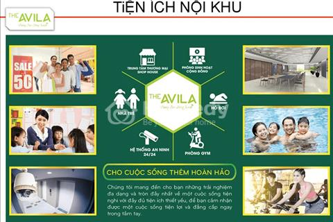 Bán lỗ căn Avila 1, 2 phòng ngủ tháng 10 năm nay nhận nhà, chiết khấu 1%, hỗ trợ vay