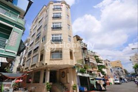 Mặt tiền khu Bến Thành, quận 1, 12 tầng, 34 phòng, có hợp đồng, 200 triệu/tháng, 59,2 tỷ