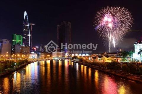 Cho thuê căn hộ 3 phòng ngủ full nội thất tầng cao, view sông Bến Nghé