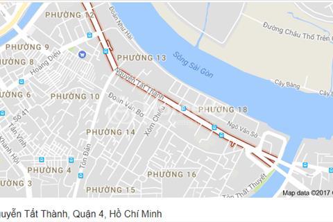 Cho thuê nhà nguyên căn mặt tiền đường Nguyễn Tất Thành, Quận 4