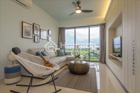 Cho thuê căn hộ River Gate, 74m2, 2 phòng ngủ, đầy đủ nội thất. Giá 27 triệu