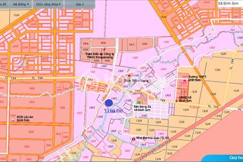Đất nền giá rẻ - giáp sân bay quốc tể long thành, ngay khu công nghiệp lộc an chỉ 3.6tr/m2