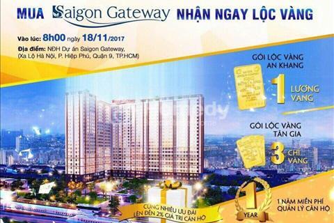 Cần bán căn hộ Saigon Gateway 2 phòng ngủ, chỉ 1,35 tỷ trên Xa Lộ Hà Nội