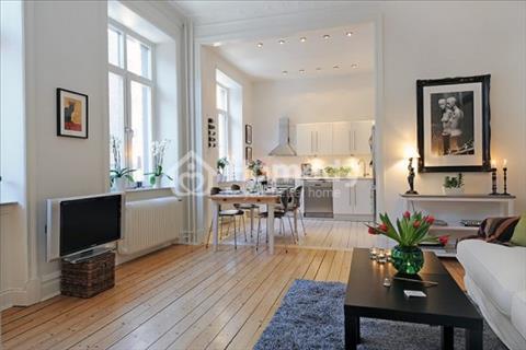 Cho thuê căn hộ Galaxy 9 Quận 4, 1 phòng ngủ, 1WC, trang bị đầy đủ nội thất. Giá: 14.5 triệu/tháng
