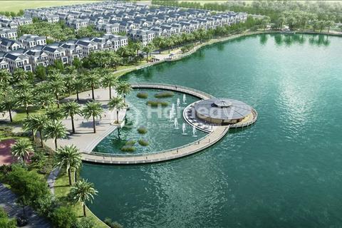 Bán liền kề góc 105m2 Nguyệt Quế 7 xây song lập ven hồ 12,4 ha tại The Harmony không có căn thứ 2