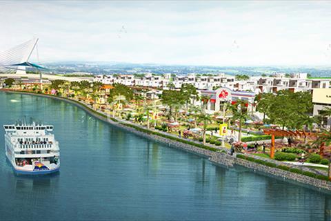 Bán đất thị xã Bến Cát mặt tiền đường Hùng Vương, ngay đại học Việt Đức. Chỉ 450 triệu/nền. CK 21%
