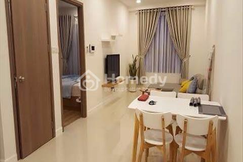 Cho thuê căn hộ Galaxy 9 quận 4 diện tích 49m2 1 phòng ngủ 1 wc  view  Bitexco giá 17,5 triệu