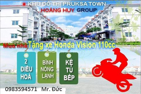 Căn hộ Pruksa Town Hoàng Huy, mua nhà tặng xe, chỉ từ 80 triệu sở hữu ngay căn hộ 2 phòng ngủ
