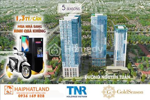 Fiveseasons 47 Nguyễn Tuân, 1,6 tỷ sở hữu căn hộ full nội thất cao cấp + free tiện ích dịch vụ