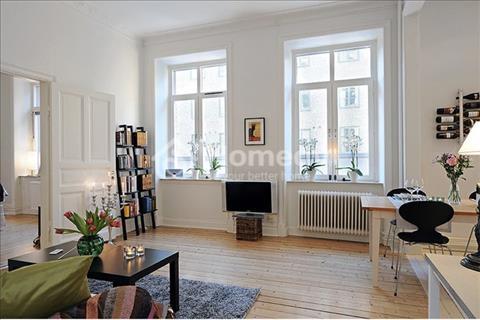 Bán căn hộ cao cấp Galaxy 9, Quận 4, 68m2, 2 phòng ngủ, 2 toilet, full nội thất. Giá: 3.1 tỷ