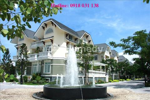 Bán biệt thự Dragon Parc mặt tiền đường Nguyễn Hữu Thọ, Nhà Bè, giá từ 6.3 tỷ đã nhận nhà, DT 21x8m
