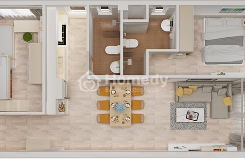 Bán căn hộ cao cấp Starlight Riverside quận 6, giá 1,3 - 1,7 tỷ (57 - 72m2), mở bán đợt 2 tháng 12