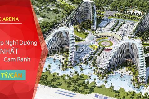 Mở bán tổ hợp giải trí lớn nhất Cam Ranh, 1 tỷ/căn, sinh lời tới 12%/năm, vay ngân hàng lãi suất 0%