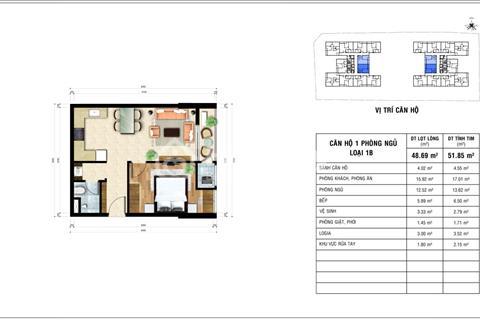 Chính chủ cần sang nhượng căn hộ 1 PN tại Jamona Heights Q7,Giá gốc CĐT