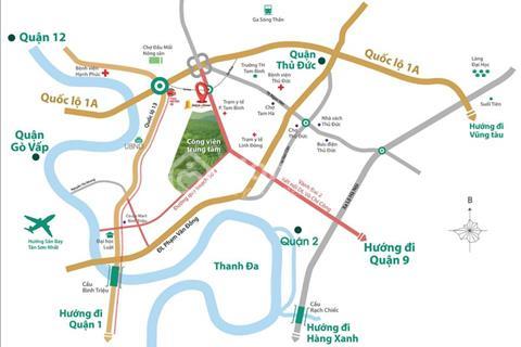 Saigon Avenue mặt tiền đại lộ 67m chỉ 20 đến 21 triệu/m2 nhanh tay đặt chỗ ưu tiên vị trí đẹp