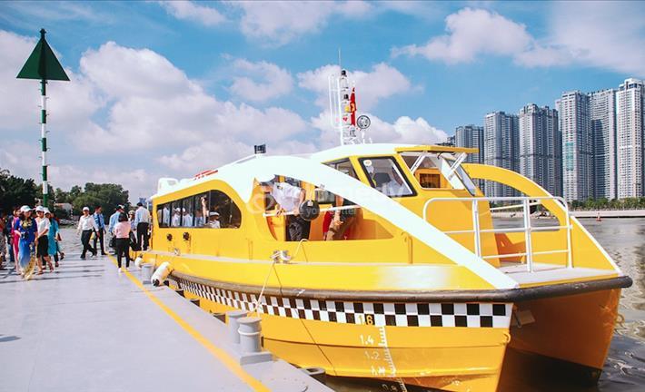 Sài Gòn sẵn sàng cho buýt đường sông với giá vé 15.000 đồng/lượt