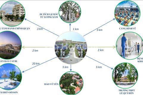 Mở bán chính thức dự án Phúc Lộc Nam Hải, Hải An, Hải Phòng, giá 10 triệu/m2