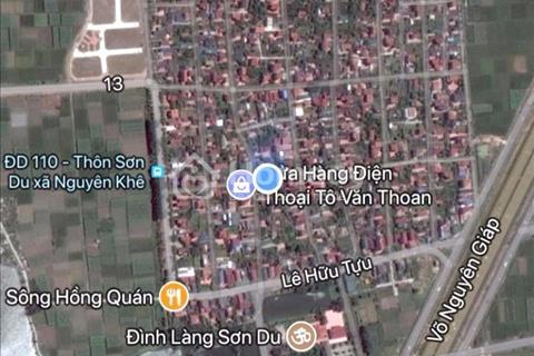 Đất đẹp Nguyên Khê - Đông Anh - Hà Nội gần công viên phần mềm giá 11,5 triệu/m2