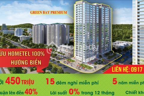 Mở bán căn hộ Hometel Green Bay Premium cam kết lợi nhuận 40% / 5 năm ngắm trọn vịnh Hạ Long