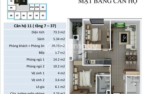 Chính chủ cho thuê căn hộ chung cư FLC Star Tower 418 Quang Trung giá 6 triệu/tháng