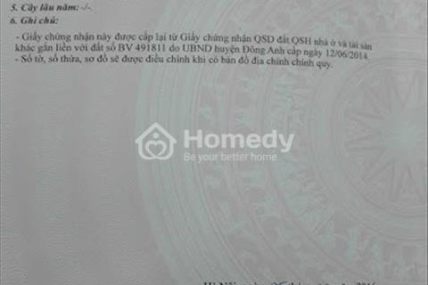 Bán nhà 2 tầng số 11 ngõ 12 Mai Châu, Đại Mạch, Đông Anh, Hà Nội