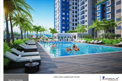 Chỉ cần TT trước 300 triệu sở hữu ngay căn hộ tuyệt đẹp 2 phòng ngủ Sài Gòn Avenue Thủ Đức