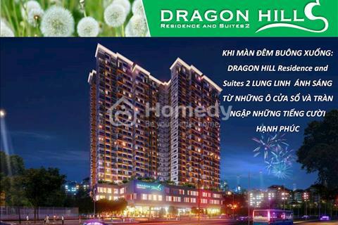 Căn hộ diện tích lớn tầng cao (Duplex Dragon Hill) view toàn cảnh Phú Mỹ Hưng