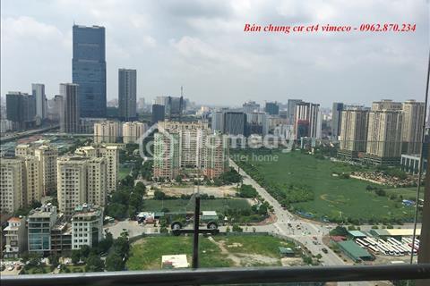 Chính chủ bán chung cư CT4 Vimeco căn góc 1A diện tích 148.2m2 tầng 16
