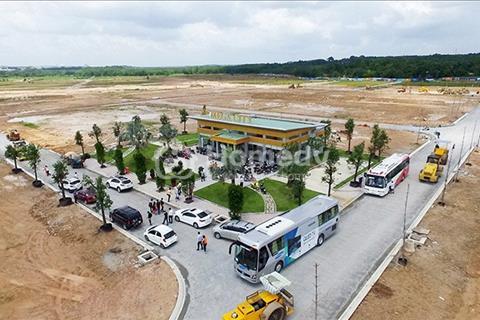 Đất Dự án Mega City ngay Chợ Bến Cát, QL13 chỉ 180 triệu sở hữu,sổ đỏ,thổ cư 100%. Tặng vàng