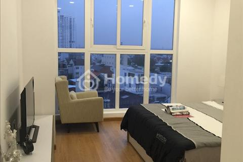 Cho thuê căn hộ Hưng Phát 2, giá rẻ, 2 phòng ngủ, có tủ bếp, rèm, 8,5 triệu/tháng