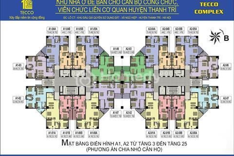 Chủ nhà bán cắt lỗ căn góc 78m2 tầng đẹp dự án Tecco Tower Thanh Trì