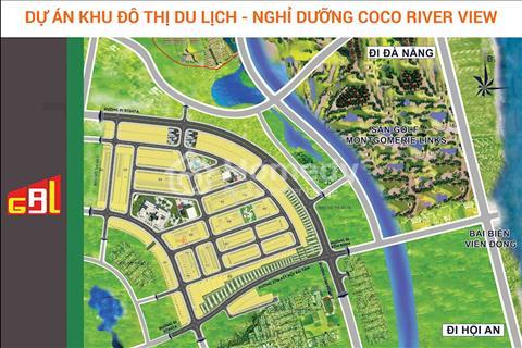 Chỉ 400 triệu sở hữu ngay Đất nền dự án Coco River View phía nam Đà Nẵng, Chiết khấu 5%