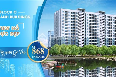 Căn hộ đẳng cấp mặt tiền Lê Văn Khương Quận 12 view hồ sinh thái giá chỉ 868 triệu