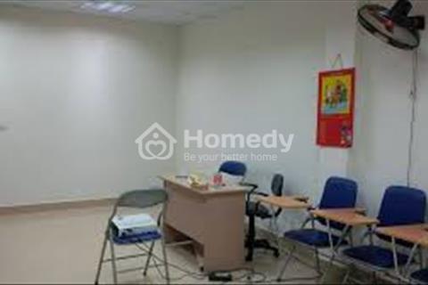 Cần cho thuê gấp mặt bằng văn phòng diện tích 45,60m2 tại mặt Chùa Láng, có hầm để xe