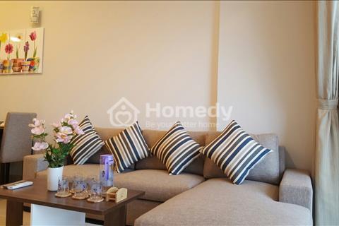 Cho thuê căn hộ 2 phòng ngủ Tropic Garden đầy đủ nội thất, tầng cao