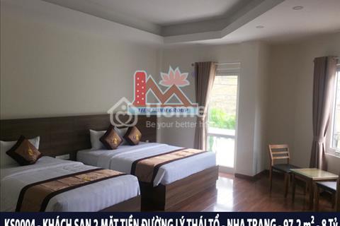 Bán khách sạn 2 mặt tiền nội thất sang trọng gần bến du thuyền quốc tế Nha Trang