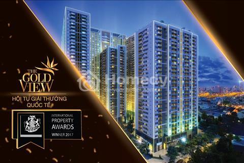 Cần cho thuê căn hộ Gold View Q4 cách trung tâm Q1 5ph, giá cả hợp lý