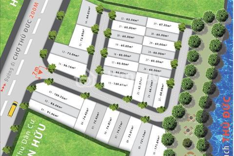 Cần tiền bán gấp 1 nền đất dự án Heart Land Linh Đông, Thủ Đức