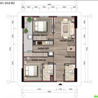 Bán căn hộ tầng 10 CT3 giá gốc 15 triệu/m2, chênh rất hợp lý