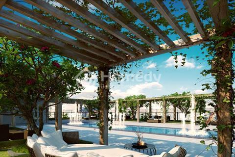 Cho thuê căn hộ cao cấp The Tresor, 73.35m2, 2 phòng ngủ 2 toilet, lầu cao, full nội thất, bao phí