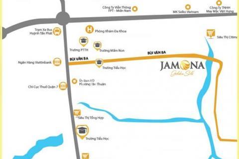 Bán nhà góc 2 MT Khu BT Jamona Golden Silk Q7-NH hỗ trợ vay.