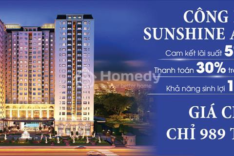 Chỉ 180 triệu sở hữu ngay căn hộ Sunshine Avenue Quận 8 ngay Võ Văn Kiệt - Giá chỉ 20 triệu/m2