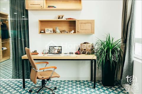 Cho thuê căn hộ Tropic Garden 2 phòng ngủ được thiết kế lại thành 1 phòng ngủ, 1 phòng kho, 2WC
