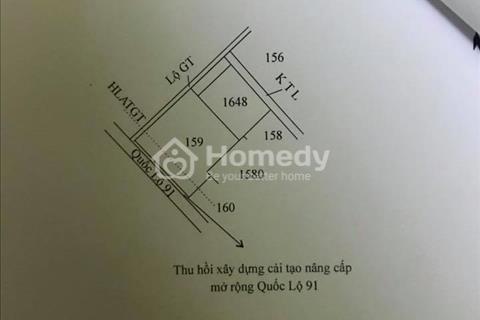 Bán thửa đất ruộng 13,568m2 nằm cặp quốc lộ 91 gần rạch Ô Môn- Thốt Nốt