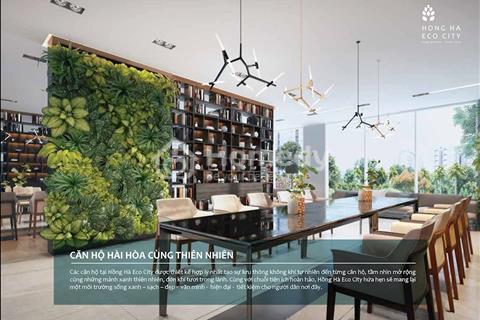 Kết thúc những ngày sống chật chội với 1,5 tỷ đồng, không gian xanh Hồng Hà Eco City hơn cả Ecopark