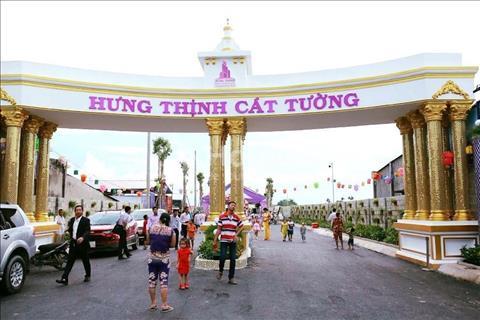 HOT!Chính thức mở bán KDC Hưng Thịnh Town Tỉnh lộ 8, giá gốc từ CĐT 360triệu/nền, Sổ hồng riêng