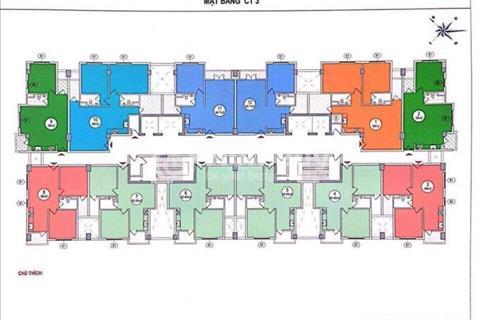 Chính chủ bán căn hộ (đã có sổ đỏ) tòa CT3 tái định cư Hoàng Cầu, diện tích 65m2