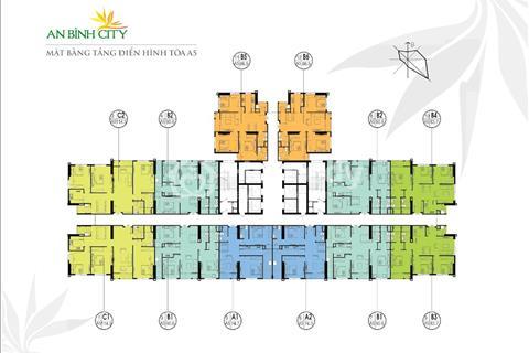 Bán lỗ 300 triệu, chung cư An Bình City, 1606 (74,3m2) và 1010 (83,7m2) tòa A7, giá 25 triệu/m2