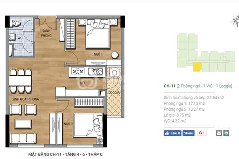 Quỹ căn Duplex nội bộ giá rẻ - dự án Valencia Garden