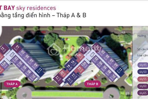 Bán gấp căn hộ chung cư West Bay Ecopark, căn tầng 1011, diện tích 61m2 giá 20 triệu/m2